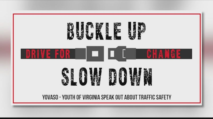 YOVASO is busy this school year finding ways to get students, parents and staff involved in their safe driving campaign.