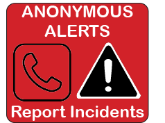 Anonymous Alerts system maintains school