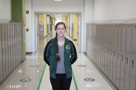 Senior Olivia Hurley