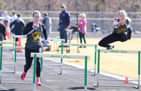 Senior Olivia Hurley and Chloe Fritz head to states after their regional successes.