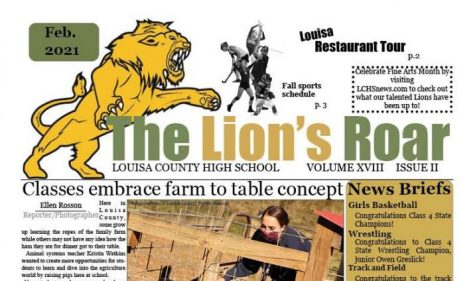 Check out the winter edition of The Lion