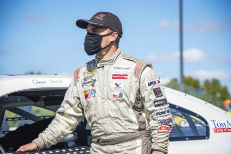 Class of 2018 LCHS alum, Owen Smith, is racing among the top 1% of drivers in the country in the ARCA Menards series.