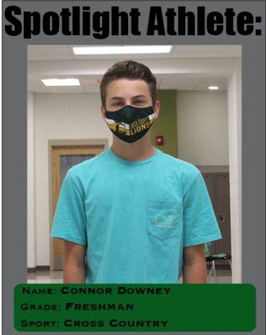 Spotlight Athlete: Freshman Connor Downey