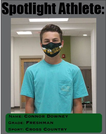 Spotlight Athlete: Freshman Connor Downey