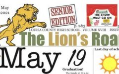 The Lion's Roar, May 2021 edition