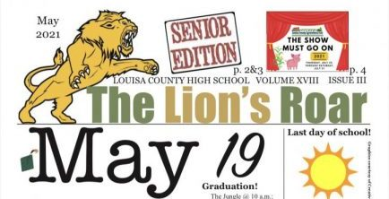 The Lions Roar, May 2021 edition