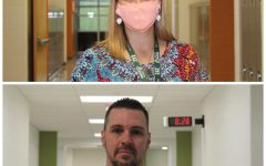 Mrs. Cash is pictured on the top and Mr. Evans is pictured on the bottom.
